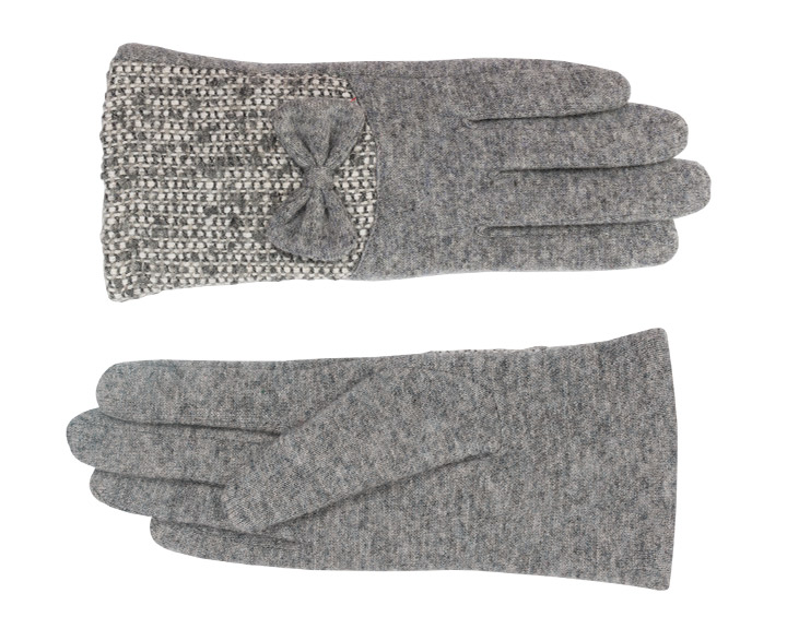 Pippa Glove Wool Charcoal-6802