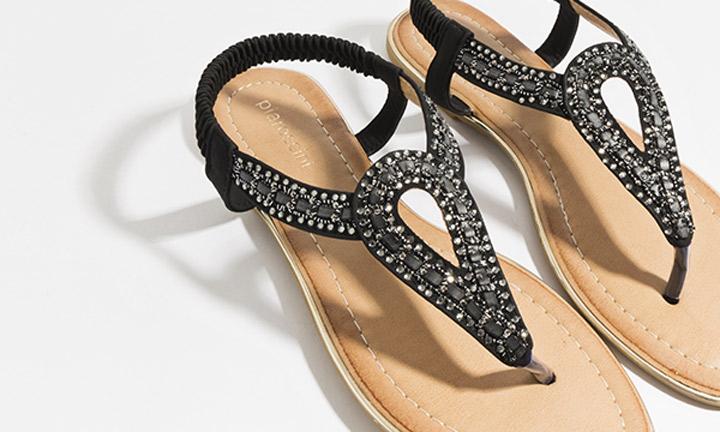 Cupid Shoe Black-7798