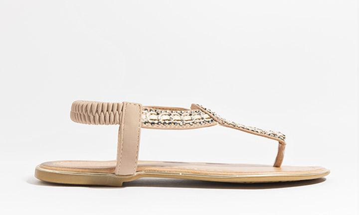 Cupid Shoe Gold-7827