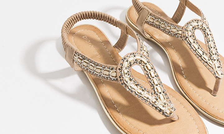 Cupid Shoe Gold-7828