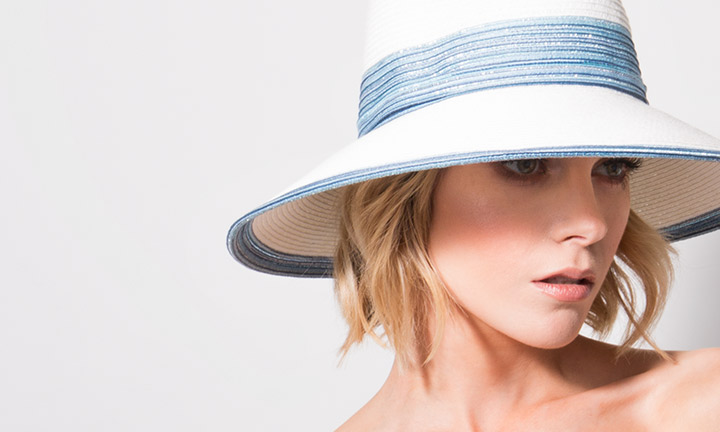 Faro Hat White/Blue-8055