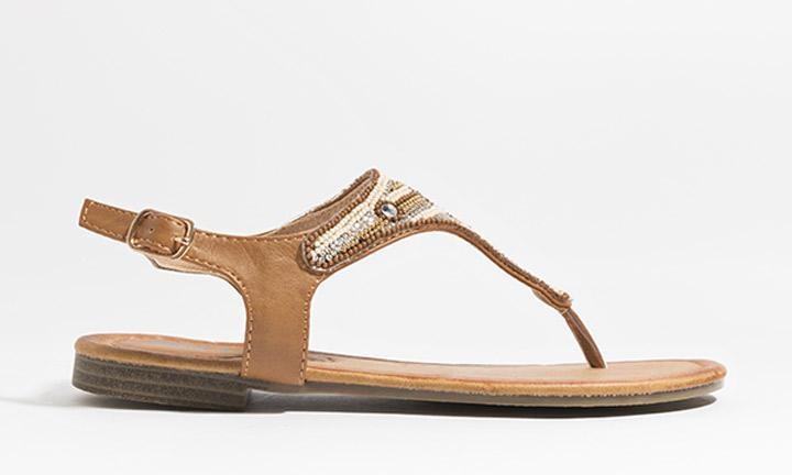 Layla Shoe Tan-8066