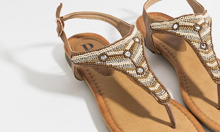 Layla Shoe Tan-8067