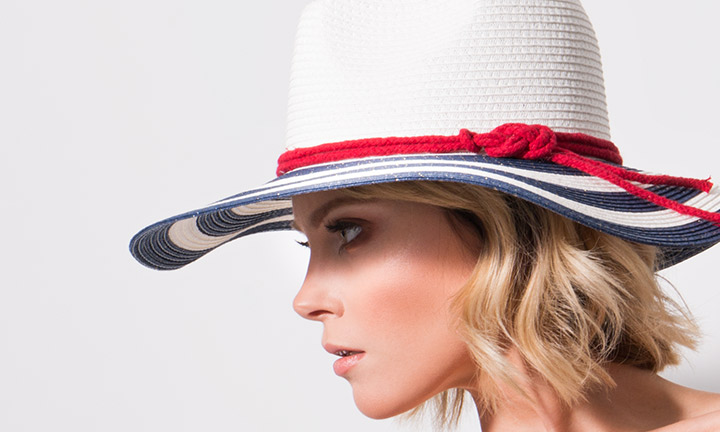 Liberty Hat Navy/White-7992