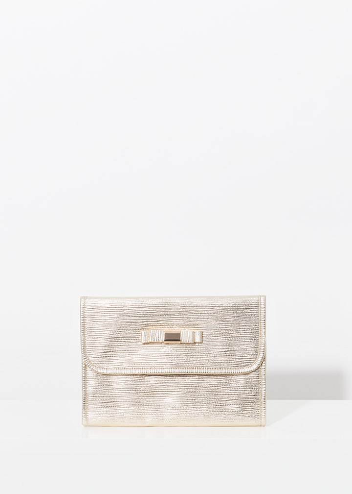 Marisol Cosmetic Bag Gold-0