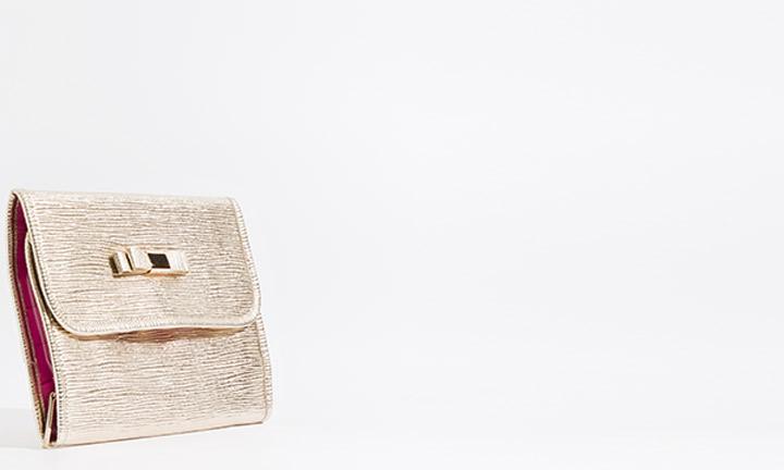 Marisol Cosmetic Bag Gold-8264