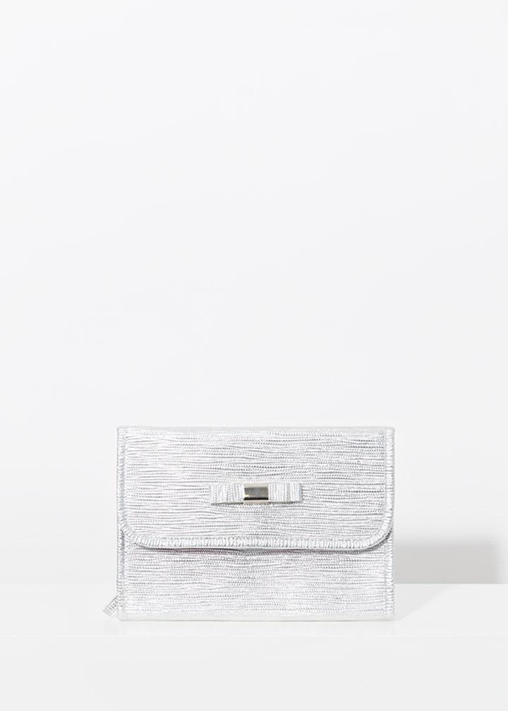 Marisol Cosmetic Bag Silver-0