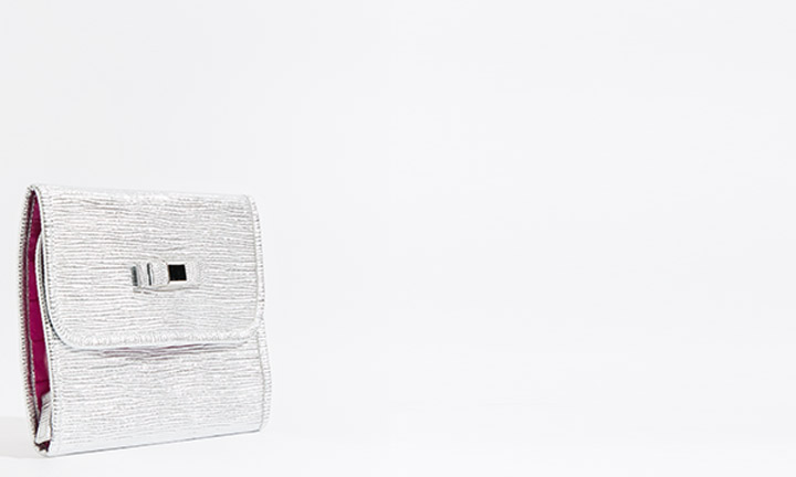 Marisol Cosmetic Bag Silver-8267