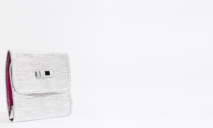 Marisol Cosmetic Bag Silver-8267