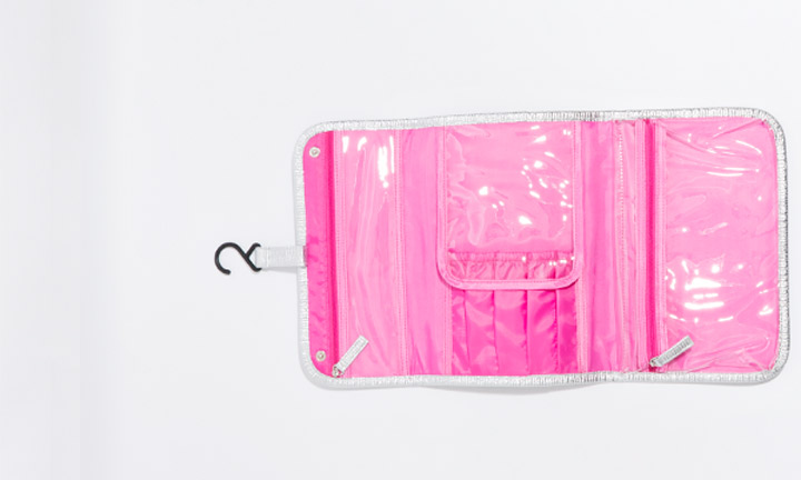 Marisol Cosmetic Bag Silver-8268