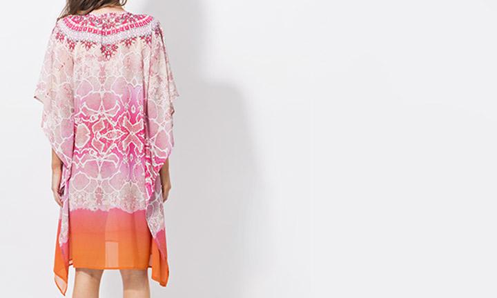 Monteray Poncho Pink-8187