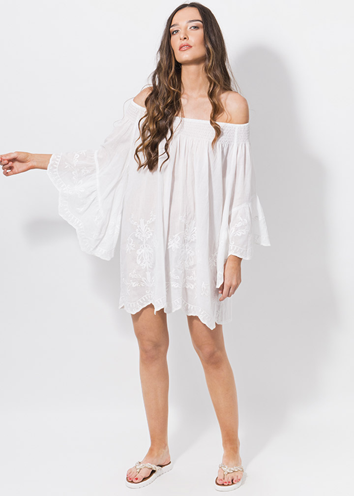 Mustique Tunic White-0