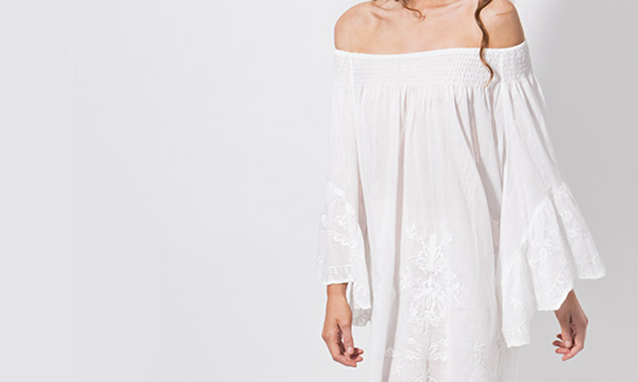 Mustique Tunic White-8207