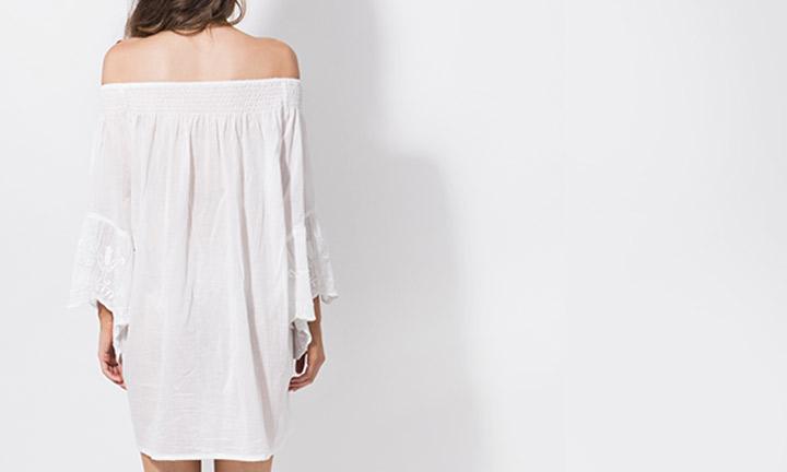 Mustique Tunic White-8208