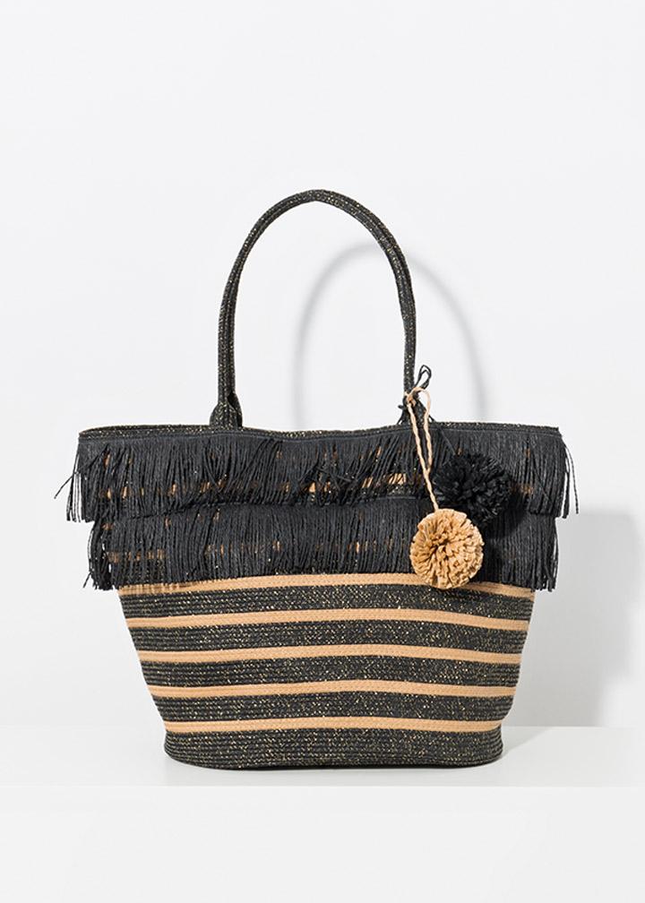 Mykonos Bag Black/Sand-0