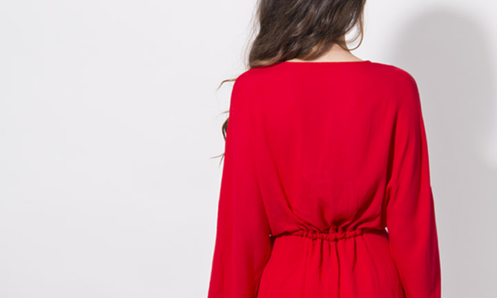 Salamanca Dress Red-8211