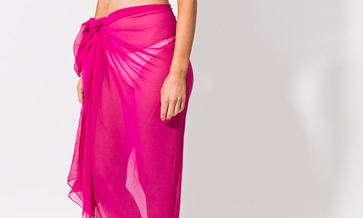 Classic sarong, pink