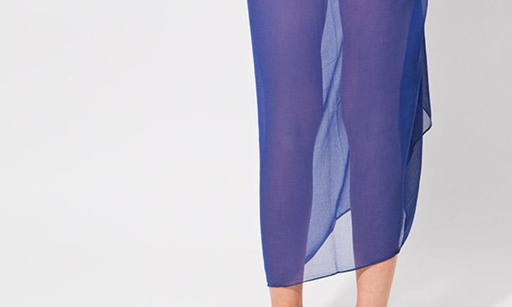 Classic sarong, blue