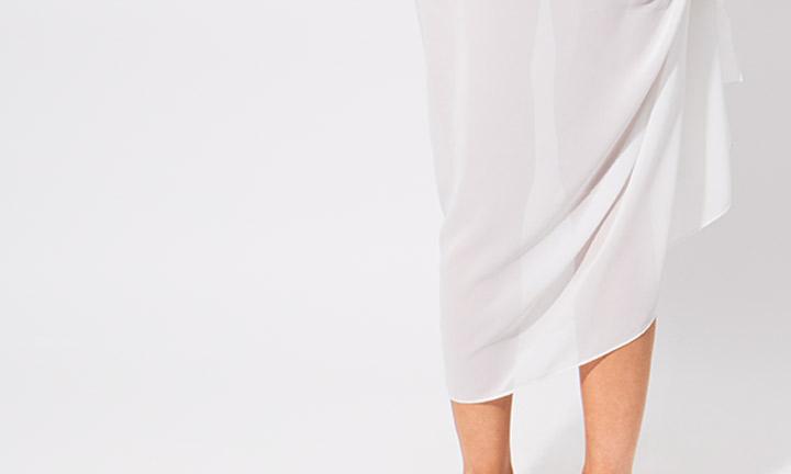 Classic sarong, white