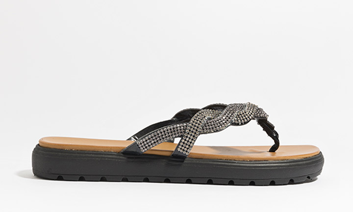 Sandrine Shoe Black-8087