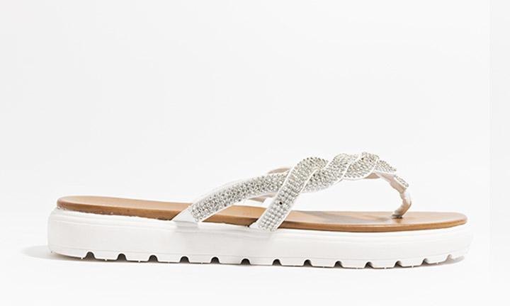 Sandrine Shoe White-8093