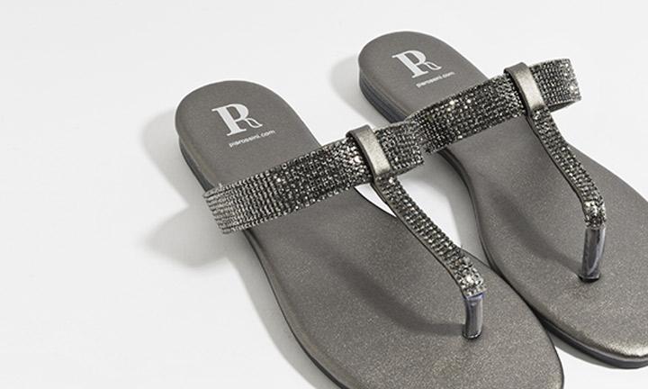 Shanaya Shoe Pewter-7878