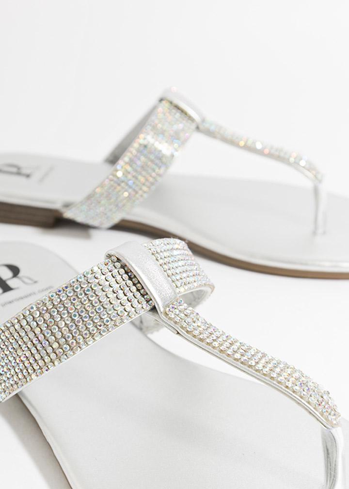 Shanaya Shoe Silver-0