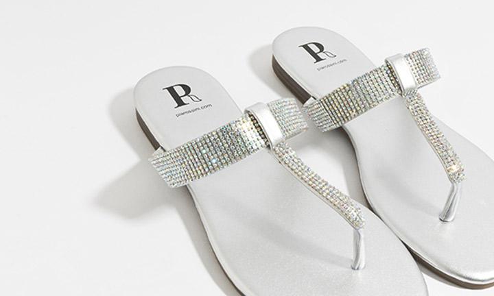 Shanaya Shoe Silver-7844