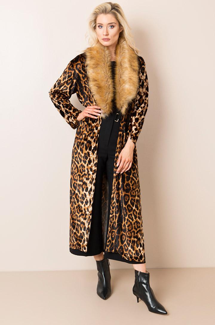 Leopard Print Kimono-0