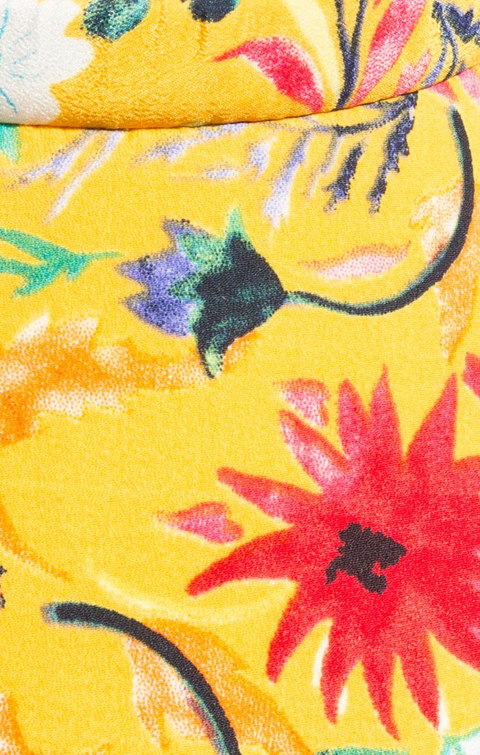Floral sun visor