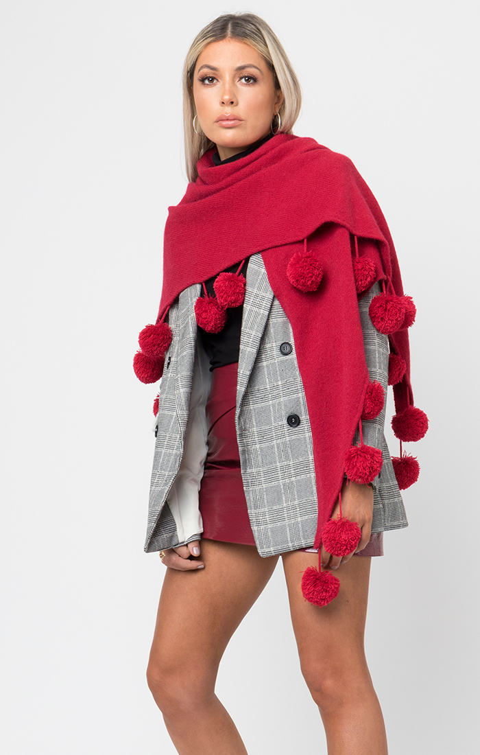 Anita Wrap - Red