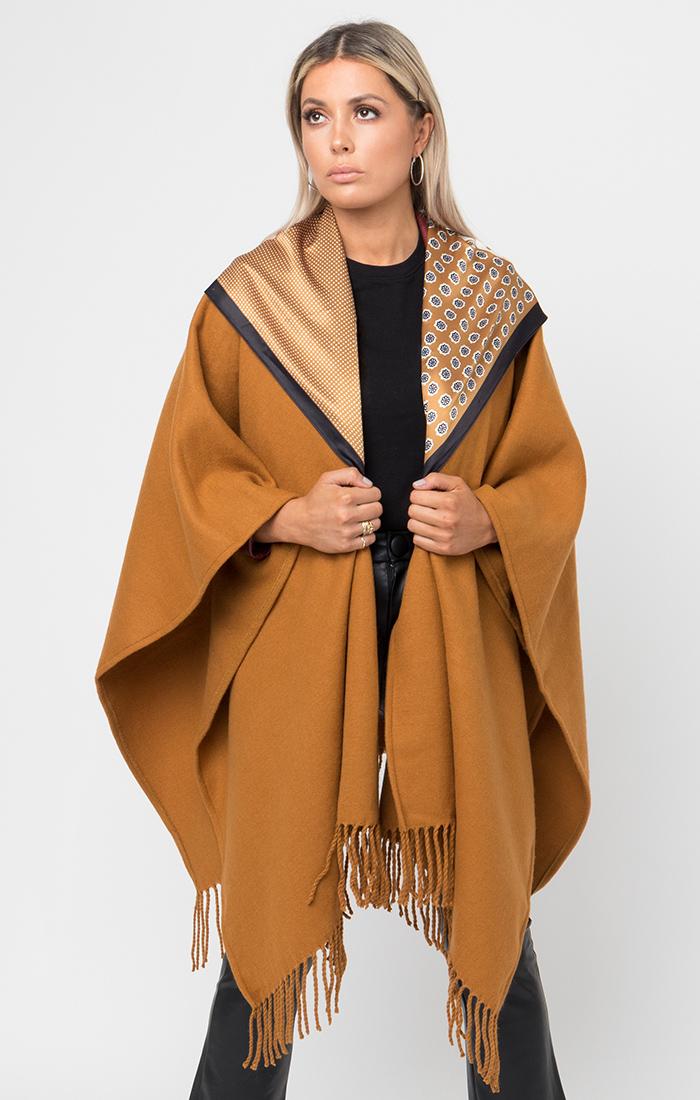 Antoinette Wrap - Camel