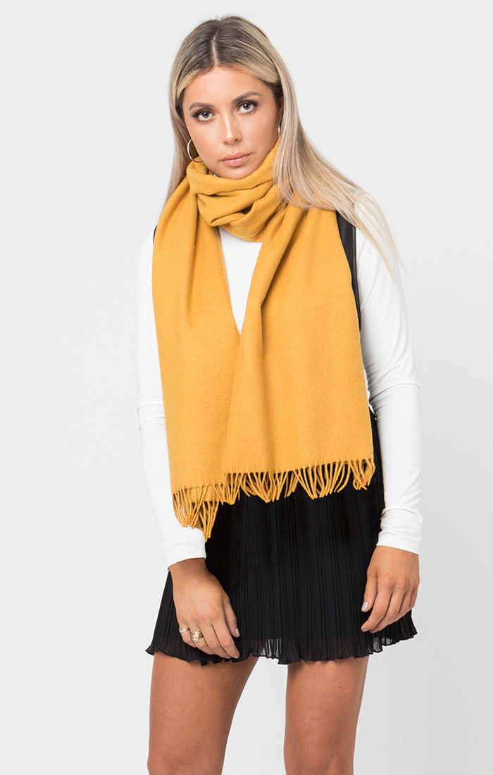 Emmarie Scarf - Yellow