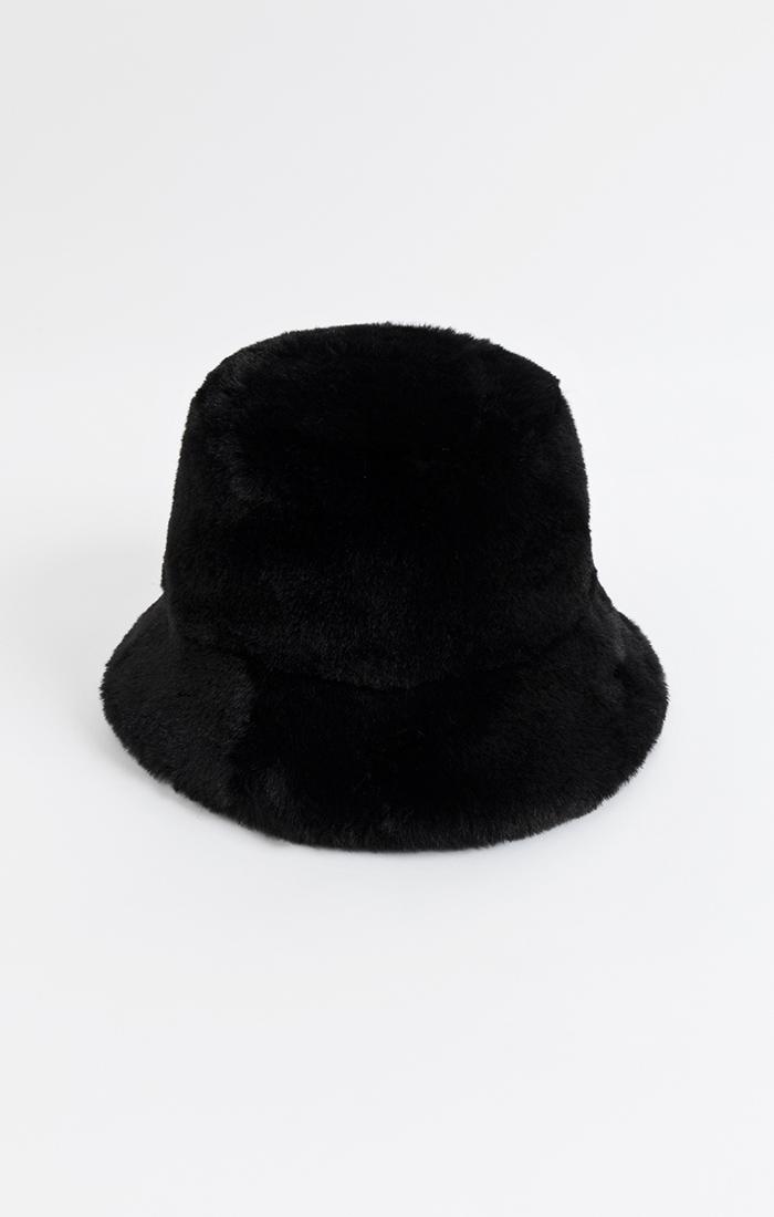 Francesca Bucket Hat - Black