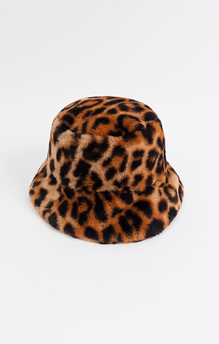 Gizelle Bucket Hat - Leopard