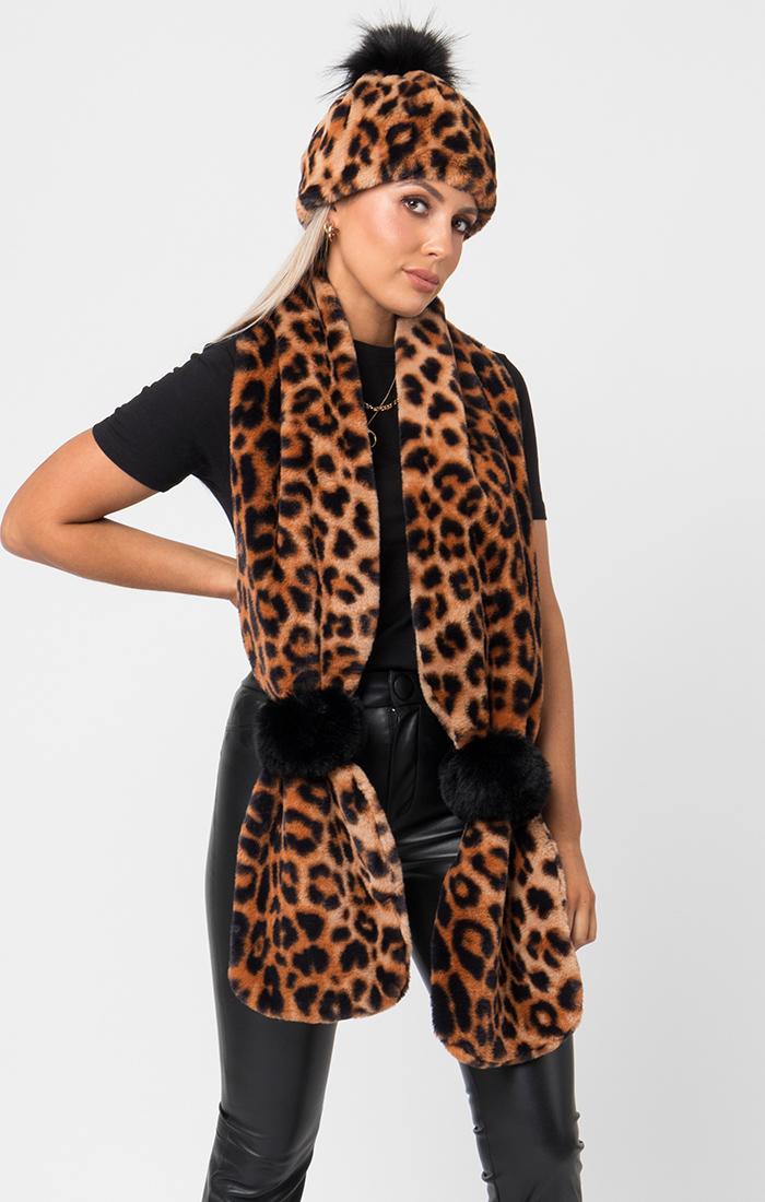 Gizelle Scarf - Leopard