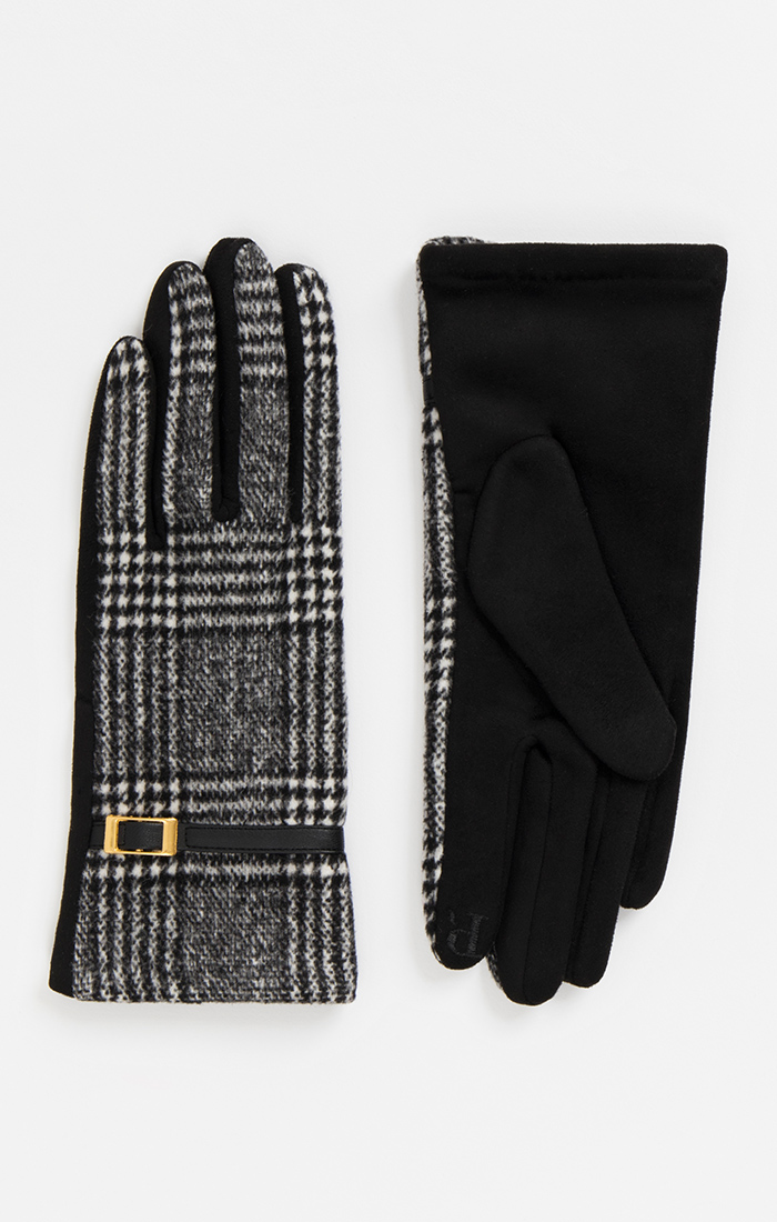 Ivie Glove - Black/White