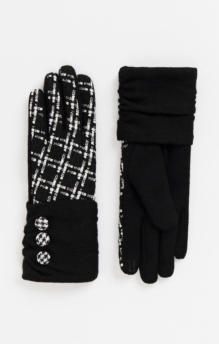 Libby Glove - Black/White