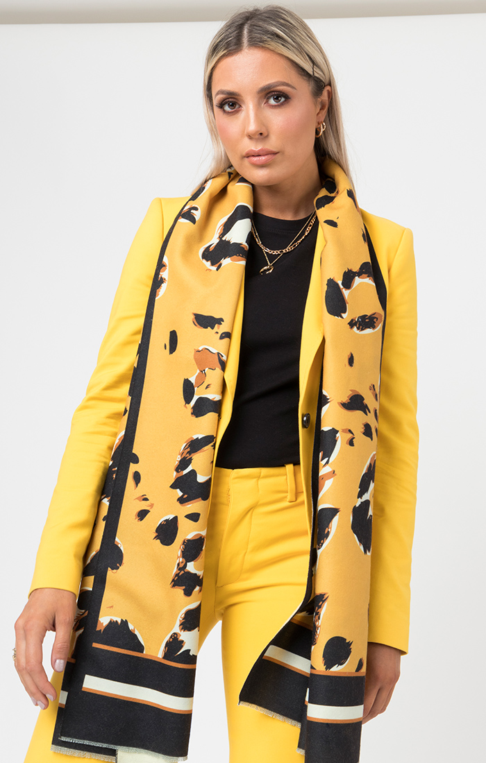 Naiomi Scarf - Yellow