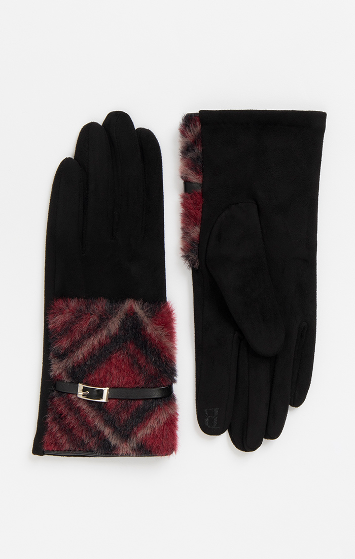 Rubi Glove - Black/Red