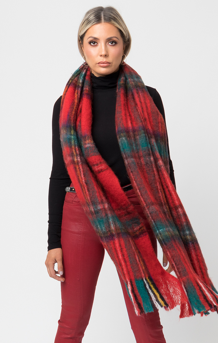 Sassi Scarf - Red