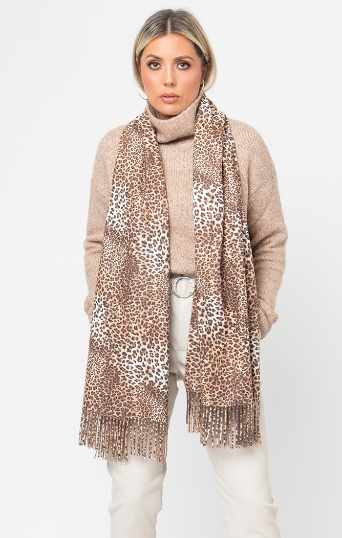 Stacy Scarf - Leopard