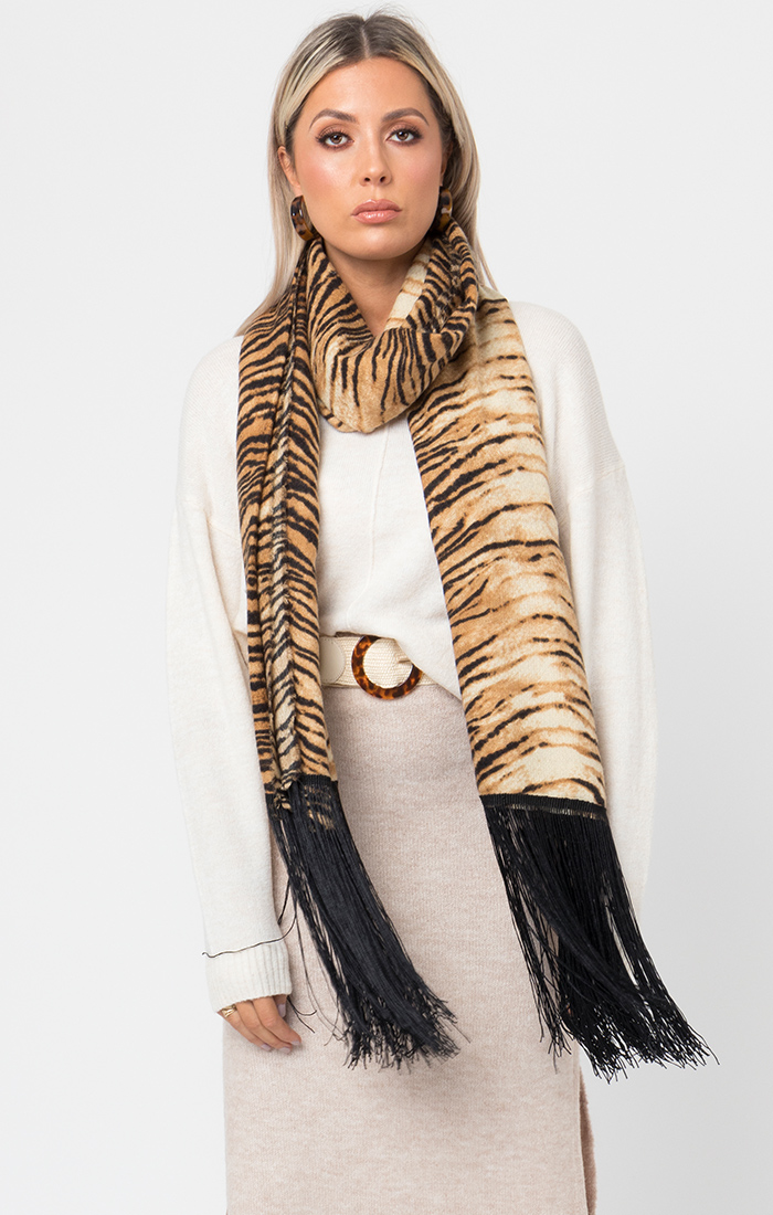 Tammy Scarf - Tiger