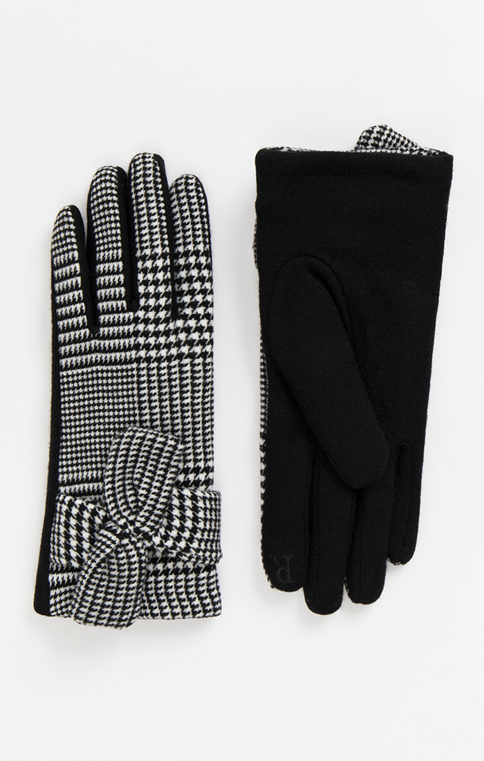 Vivien Glove - Black/White