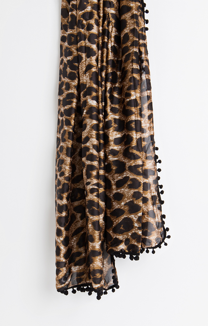 Astro Scarf - Leopard
