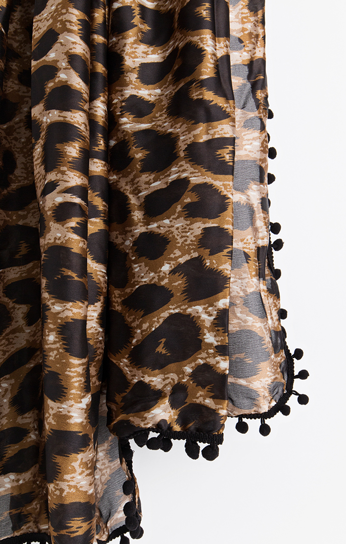 Astro Scarf - Leopard