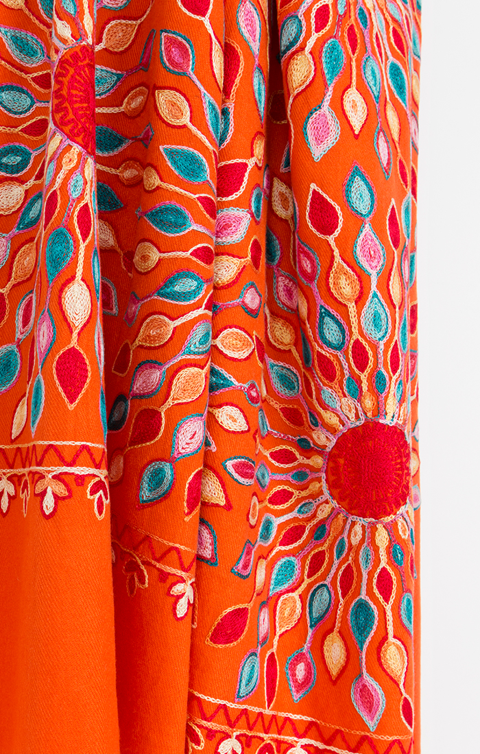 Aysha Scarf - Orange