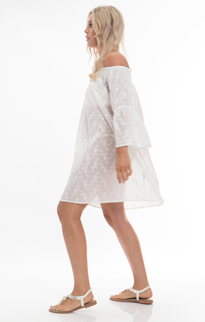 Baye Dress - White