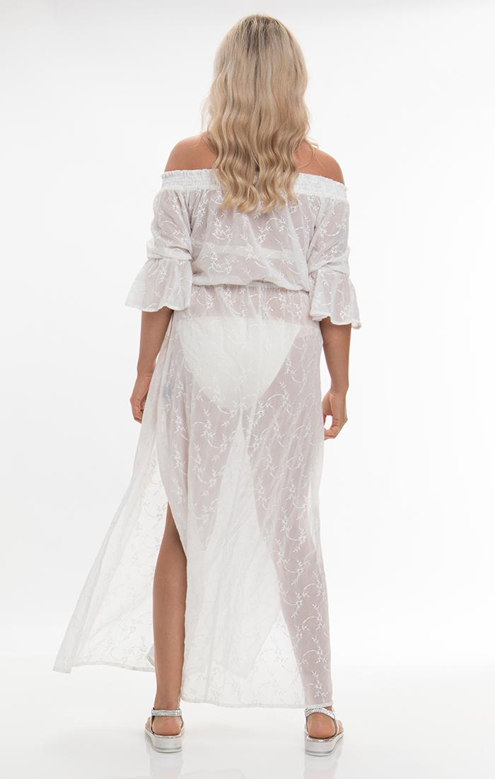 Baye Maxi Dress - White
