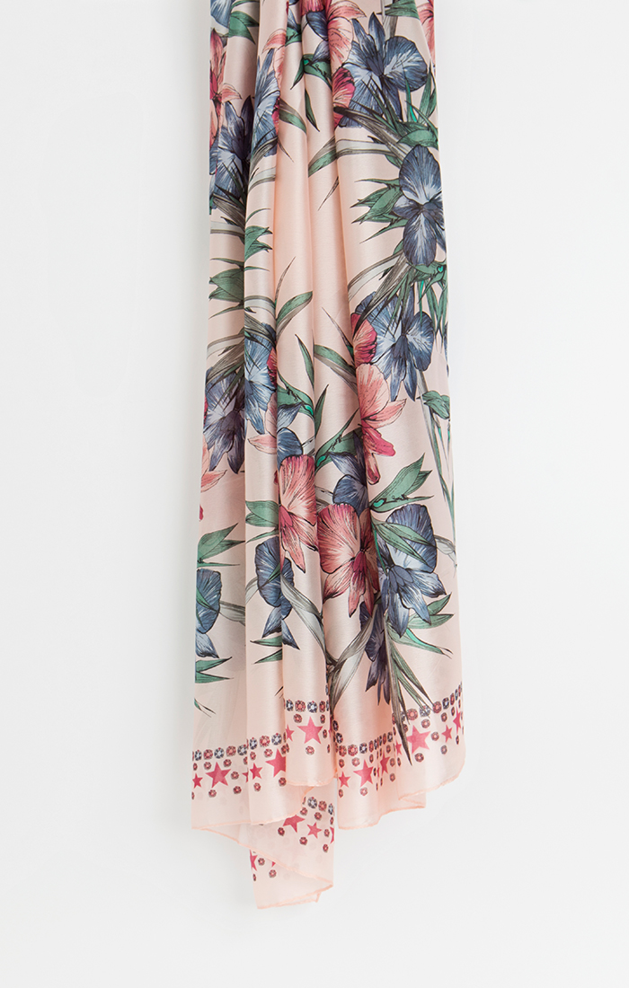 Bliss Scarf - Blush